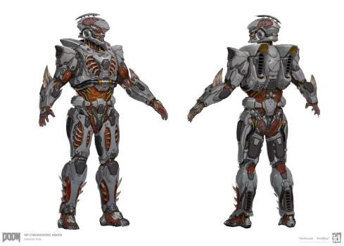 DOOM - MP Cyberdemonic Set by emersontung