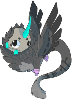 Sky-dweller 23# trica by nutty-stardragon