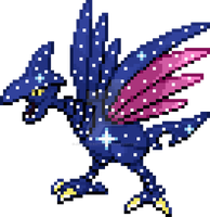Skarmory x Cosmog Fusion by joey-and-rattata