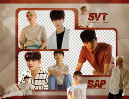 Pack Png #649 // SEVENTEEN (ALONE) by BEAPANDA