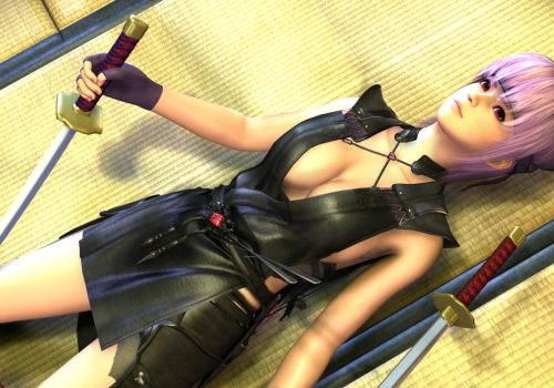 Ayane WIP by 3dbabes