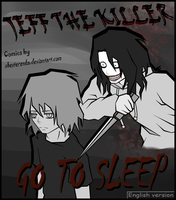 Cover page (Jeff the killer manga) by ShesterenkA