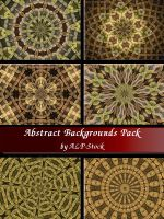 Abstract Backgrounds PK by ALP-Stock