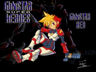 Gunstar Red by carefreecaptain