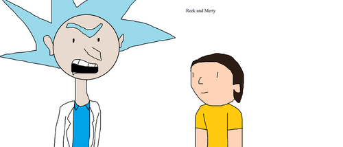 My Bootleg Rick and Morty by SCP-096-2