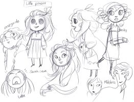 A Little Princess - Sketches by secondlina