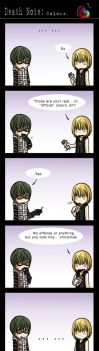 Death Note: Colors. by eychanchan