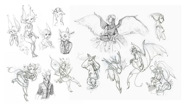 Another Sketchdump by IngalTi