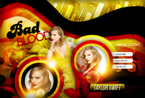 +EDICION: Bad Blood |Taylor by CAMI-CURLES-EDITIONS