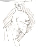 Batman pencil profile by timmytom