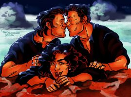 The Kiss [Tango and Cash] by ProfDrLachfinger
