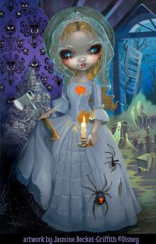 Haunted Mansion The Bride Returns by jasminetoad