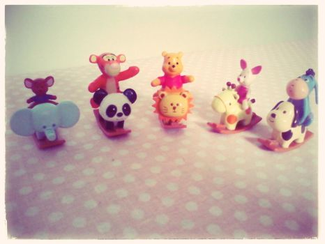 rocking Pooh and friends by LAUBoZ