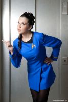 star trek -  Helen Noel by GhiandaiaCosplay