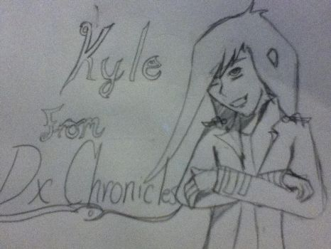 Kyle from DX Chronicles! by Shadowkit0