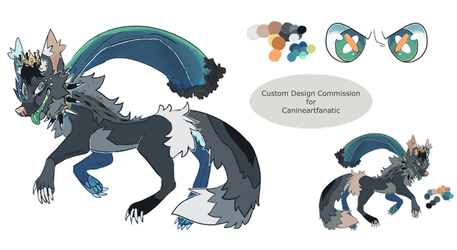 Design custom For canineartfanatic by Human-Total