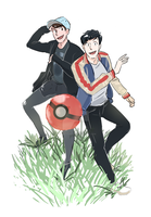 Phan Pokemon Go by incaseyouart