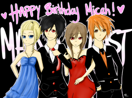 HAPPY BIRTHDAY MICAH DEAR by BP-wolf