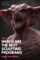 Which are the best 3D Sculpting Programs? by ARTOFJUSTAMAN