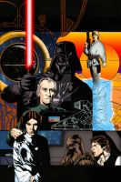 Star Wars: A New Hope Infinities #1 Colourised by Cotterill23