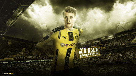Marco Reus Wallpaper 2016/17 by Abbes17