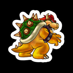Mario - Bowser by sketchygerry