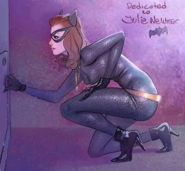 Classic Catwoman by BerolEagle