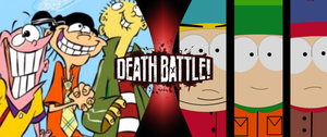 The Eds vs Stan, Kyle and Cartman by goldsilverbronzekid
