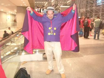 Darkwing Open Cape by LordNegaduck