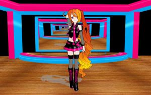 MMD Newcomer:The twin...XD by cherrybreeze13