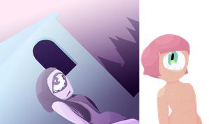 More cyclops .:Purple and Pink+Peach:. by Helena-G-Fiorenza