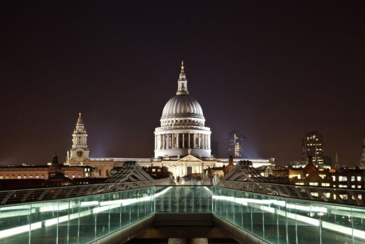 StPaul Cathedral Dome by Thameralhassan