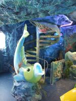 themed decoration for a playground by Theatricalarts