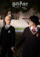 Draco and Potter cosplay by TheSinisterLove