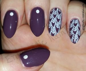 Herringbone Nails by EnigmaticRambles