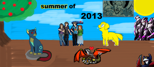 Summer Of 2013 by saracat13