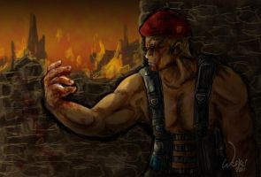 War paint - Krauser by OwlBulldog