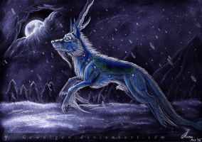 [ART TRADE] Winterbringer Iskisdra by Gewalgon