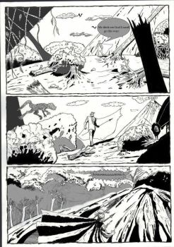 Page 4 of A Caveman's Story by StacyBuckWritin