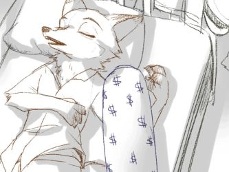 Zootopia- sleep by christon-clivef