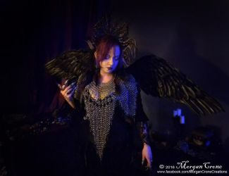 Queen of the Corvids Costume 2 by MorganCrone