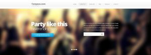 Free slider with menu, typography and input by tempeescom