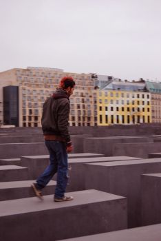 Berlin 06 - The Holocaust Memorial by Sankri