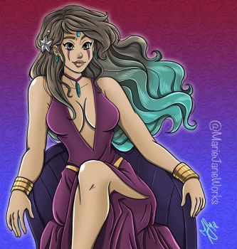SIS: Hexe Trude (YGO) by MarieJaneWorks