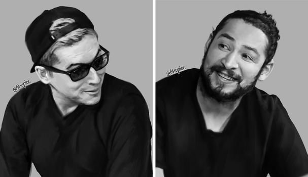 Aleks and James (Cow Chop) by Shuploc