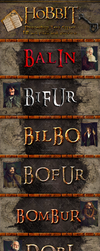 hobbit PS Styles by dabbex30