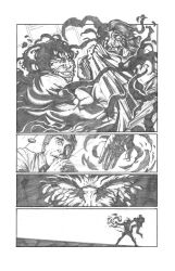 Solar Man of The Atom #11 page 12 Pencils by anthonymarques