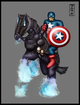 Captain Turkish America by The-Brade