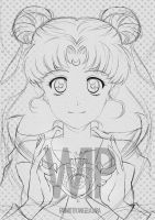 WIP fanart Sailor Moon by AngelaLara