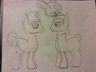 Ponified Donnie and Frank by doctorwhooves253